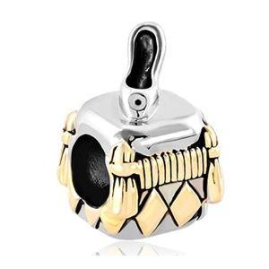 4/$25 Sale Princess Cinderella Charm Fits Pandora